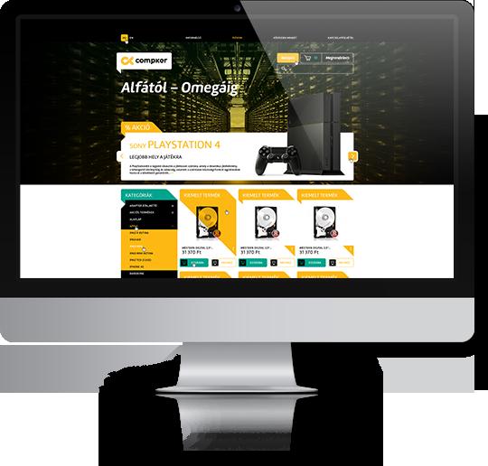 1561f70437 Webáruház készítés, Webshop készítés | Make IT Online