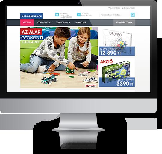 Woocommerce webshop felesztés