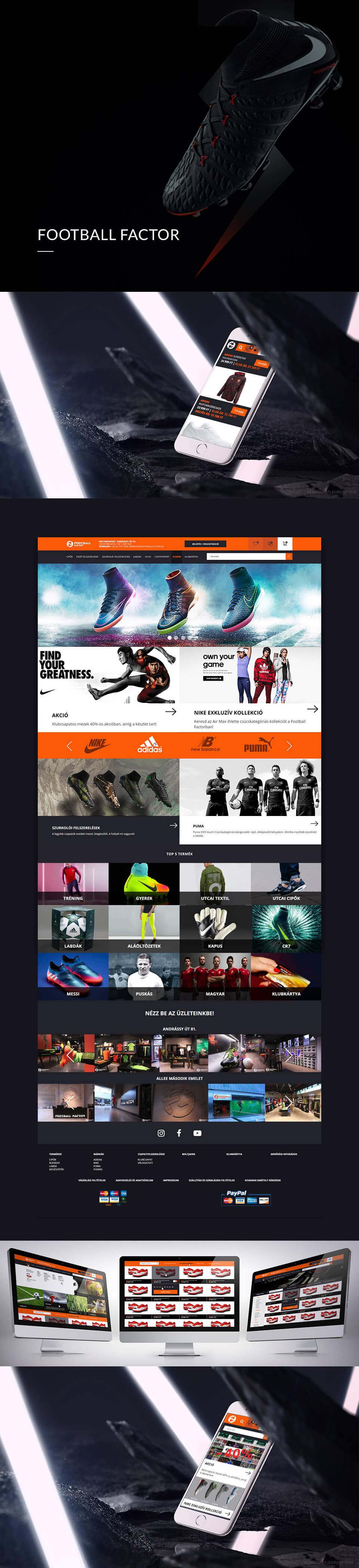 egyedi webshop