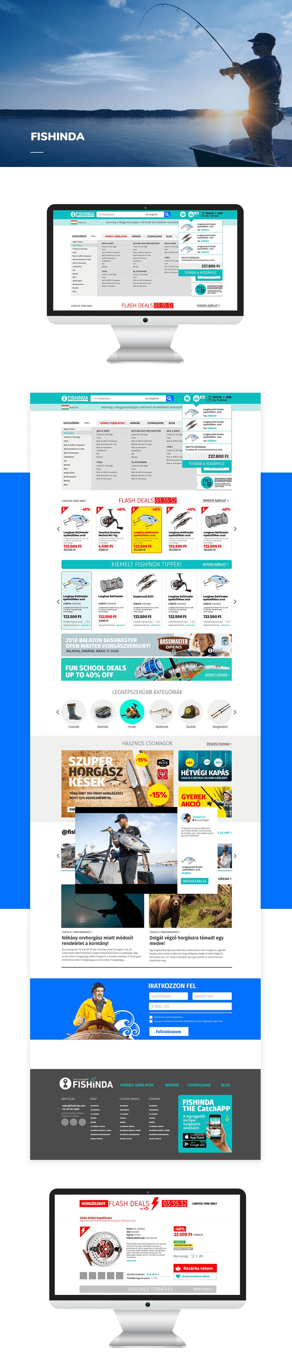 webáruház fejlesztés